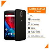Celular Moto G4 Plus Xt1641 . 32 Gb . Liberado + Garantía