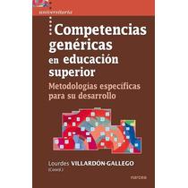 Ebook Competencias Genéricas En Educación Superior