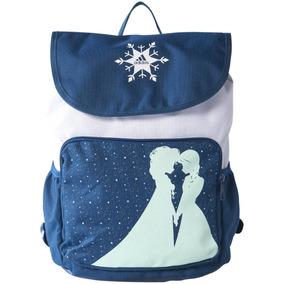 Mochila Escolar Disney Frozen Elsa Y Anna Niña adidas Az1844