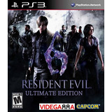 Resident Evil 6 Complete Edition - Playstation 3 Ps3