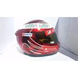Capacete Felipe Massa Ultimo Usado Na Ferrari Casco Mt Blade