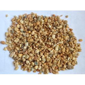 Piedra Marmol Decorativa Amarillo/beig (piedrita Decoracion)