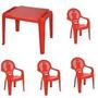Conjunto De Mesa E Cadeiras Infantil Tramontina