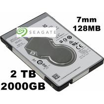 Hd 2tb 2 Teras Ps4 Notebook Seagate 7mm 128mb 5400rpm Sata 3