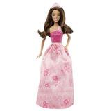 Barbie Princess Fairytale Fashion Doll, Morena