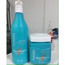 Kit Mar Morto Shampoo 750ml E Máscara 750gr Hobety 100% Orig