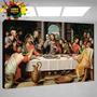 Ultima Cena, Imágenes Religiosas En Bastidor Para Colgar