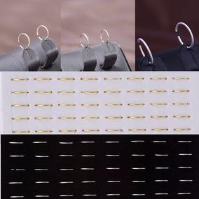 Piercing De Nariz - 40 Peças - Prata - Atacado