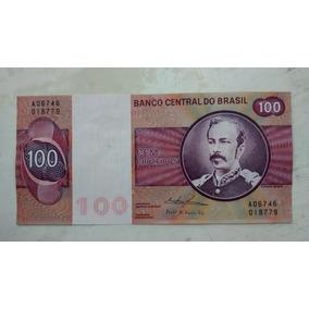 Cédula C146-100 Cruzeiros- Gola Baixa - Sob/ F.e.- 3005
