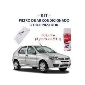 Kit Higienização Ar Cond Fiat Palio Siena Strada