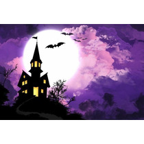 Painel Decorativo Festa Infantil Halloween Dia Bruxas (mod3)