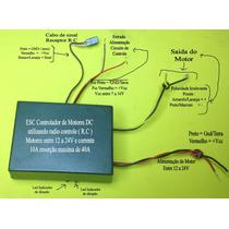 Esc Brushed 20a Radio Controle Motores Corrente Continua