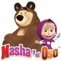 Kit Imprimible Masha Y El Oso Fiesta Cotillón Personalizado