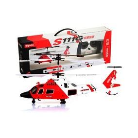 Helicóptero Syma Guarda Costeira 3 Canais - Original