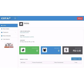 Script Mmn Cota - Cota 10, Mais Completo + Loja Virtual