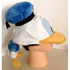 Parque Disney Pato Donald Felpa Muñeca Adulto Gorra Nueva