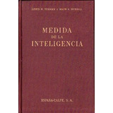Medida De Inteligencia - Terman Y Merrill 1964 Espasa Calpe