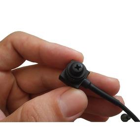 Micro Mini Camera Espia Lente Formato Parafuso 1000 Linhas