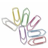 Clips Colorido Nº 2/0 Cx C/50 Un Kit Com 20 Cx - 1000 Clips