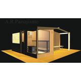 Cabina Sauna Box Spa Hidromasaje Sauna Vapor Ducha Escocesa