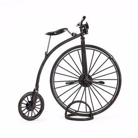 Miniatura Decorativa - Bicicleta Roda Grande