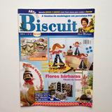 Revista Arte Em Biscuit Potes Flores Conjunto Para Chá N°34