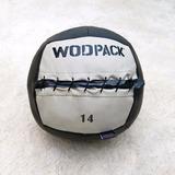 Med Ball Wodpack Para Crossfit Balón 14 Lb
