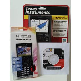Kit Calculadora Gráfica Texas Ti-nspire Cx Cas