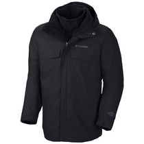 Campera Columbia Bugaboo - Hombre - Impermeable Desmontable