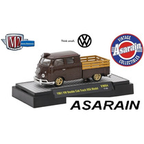M2 Volkswagen R 4 1961 Vw Kombi Double Cab Truck Model 1/64