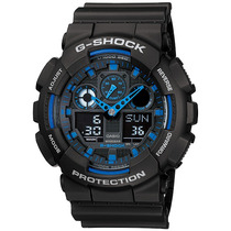 Casio G-shock Analógico Digital Ga100 Ga-100-1a2 Original