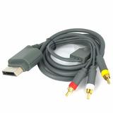 Cable Audio Y Video Generico Para Xbox 360