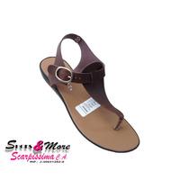 Sandalia Para Dama Desliz C11 Marron