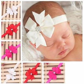 Diadema Para Bebe Princesa Niña Moño Diamantes Adorno