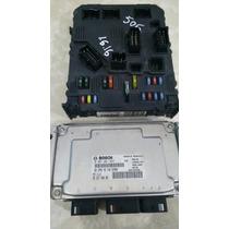 Modulo Injeção Kit Peugeot 206 1.6 16v 0261201647 Com Bsi