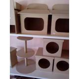 Torre Porta Cupcakes Fibrofacil Mdf