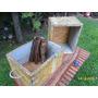 Cajón Ideal Leña Quincho Organizador Decoración Y Uso $ C/u