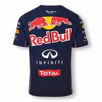 Camisa Camiseta Red Bull Oficial Formula 1 Masculino Corrida