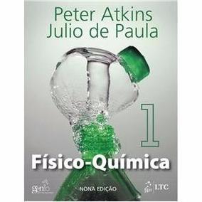Físico-química. V1. P. Atkins. 9ªed. Livro Físico - Novo