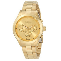 Reloj Invicta Women 12466 Angel Gold-tone Stainless Steel