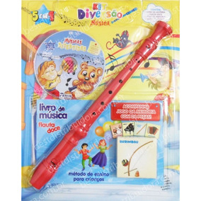 Kit Diversão Musical - Para Crianças (com Flauta)