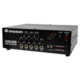 Amplificador De 240 Watts Pmpo Radson Mod. 800usb