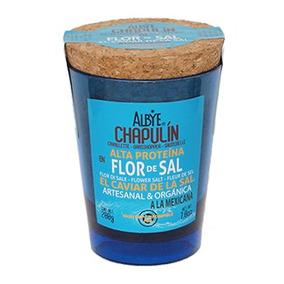 Chapulín En Flor De Sal A A Mex (sodio 12%)( 2vaso W 200g)