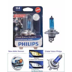 Lampada H4 Titan 160 Efeito Shenon Cristal Vision Philips