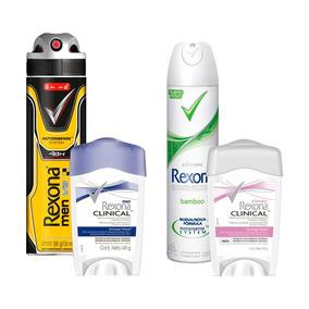 Desodorante Rexona Sampler Mujer Y Hombre