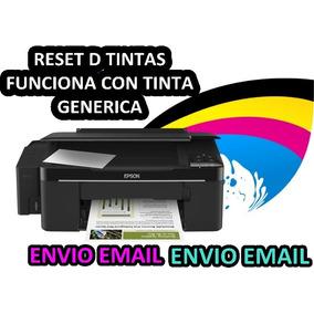 Reset Epson Error D Tintas L200 Funciona Tintas Genericas
