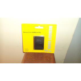 Memory Card 64 Mb Para Ps2 Play Station 2 Envio Gratis