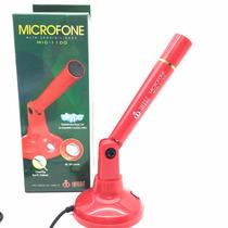 Microfone De Mesa Para Computador De Alta Sensibilidade