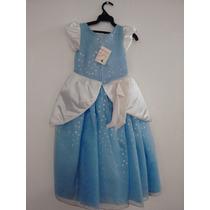 Vestido Princesa Cenicienta Talla 6 Y 8