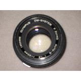 Lente Olimpus -om-sistem F .zuico Auto-s 1 :1.8 Foco 50mm
